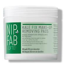 Nip + Fab Soften Kale Fix make-up removing pads Dry Skin Hydrates 60 Pads New
