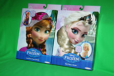 Frozen Elsa Braid Wig & Tiara + Anna Snow Cap w/ Braids + Zip Pencil Case w 40+