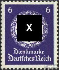 Imperio Alemán d169a nuevo 1942 sello de franqueo oficial