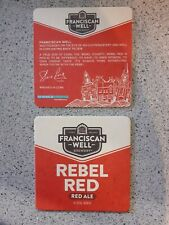 Irish craft Beer Mat By Franciscan Well Brewery