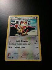 Carte Pokémon N°80/99 Miaouss Destinées Futures VF au profit des animaux