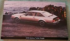 1979 Buick Century Turbo Coupe Advertising Postcard