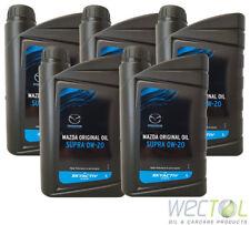 5 x 1 Liter MAZDA Original Oil Supra 0W-20 Skyactiv Technologie Motoröl Öl