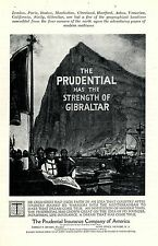 The Prudential Insurance Company of America * American ad. in the thirties