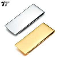 Quality Made TT 316L Stainless Steel Money Clip (MC50) NEW