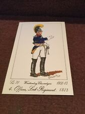 Card Rene North 76 Wurttemberg Chevaulegers  4