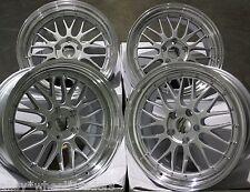 """18"""" SPL LM ALLOY WHEELS FITS 5X98 ALFA ROMEO 147 156 164 GT FIAT 500L DOBLO"""