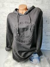 Italy Hoodie Pullover Vintage Gr.36 38 40 42 Sweat Shirt 3D Print grau blogger