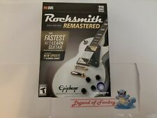 * New * Rocksmith 2014 Edition Remastered - PC DVD w/ Real Tone Cable Included