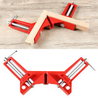 90 Degree Woodworking Right Angle Picture Frame Corner Clamp Clip Holder Tool