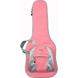 Gator Cases Gig Bag for Acoustic Guitars - PINK Guitar Case