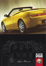 brochure 2000 ALFA ROMEO SPIDER !!! Type 916