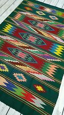 🌈RARE Saltillo Blanket Tapestry Boho decor Fine Wool Shaman Chief Blanket