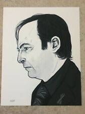 Better Call Saul Goodman Art Print Bob Odenkirk Breaking Bad Mike Mitchell Mondo