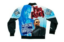 The Rock Know Your Role Jabroni WWE Legends Fanimation Chalkline Jacket