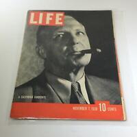 Vintage Life Magazine: A California Candidate - November 7 1938