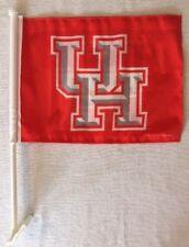 "New University of Houston - 2 Sided Car Flag - Banner - Size: 11"" x 14"""