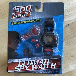 New Spy Gear Ultimate Spy Watch AXP-8 COLLECTIBLE WILD PLANET 2011 SEALED