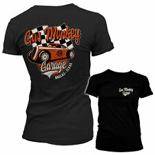 Officially Licensed Gas Monkey Garage Racing Women's T-Shirt S-XXL Sizes