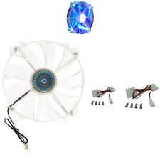 Cooler Master MegaFlow 200 - Sleeve Bearing 200mm Blue LED Silent Fan for Com...