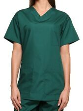 Lister Unisex Medical Hospital Surgical  Operating Doctor Vets Scrub Tunic Top