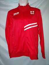 Fifth Sun Red White England Soccer Futebol Long Sleeve Jacket 2XL Mens NWT