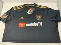 Adidas Los Angeles FC  MLS YouTube Soccer Jersey * LA FC * New With Tags XL Mens