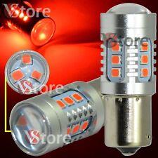LED LAMP Stop Brakes BA15S 1156 P21/5 W 15 SMD 2835 CAMBUS Rojo Error Free