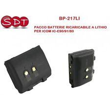BP-217-LI PACCO BATTERIE RICARICABILE 7,4 Volt 1400 Mah PER ICOM IC-E90/91/80