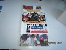Bike Magazine UK  APR 1990 - FREE SUPPLEMENT SUMMER STARTS