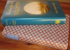 Villette ~ Charlotte Bronte.  HbDj. The Zodiac Press 1977.  UNread  HERE in MELB