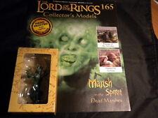Señor de los anillos figuras-Edición 165 Marsh en el espíritu Muerto Marismas EAGLEMOSS