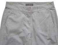 New Womens Marks & Spencer White Chino Trousers Size 22 20 16 14 10