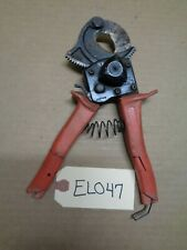 Hk Porter 3590Fs Ratchet-type One Hand Operated Soft Cable Cutter - El047