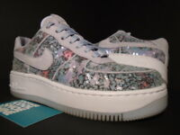 WOMEN NIKE AIR FORCE 1 AF1 UPSTEP 35 GLASS SLIPPER PURPLE SILVER 917589-500 7.5