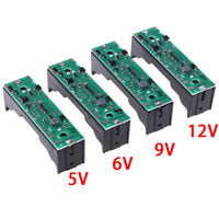 1Pc 18650 Battery Step Up Module 4 in 1 Integrated Plate 5/6/9/12V