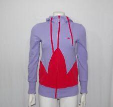 Adidas original felpa donna TG 40 viola usata e originale