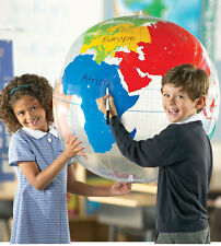 Learning Resources Inflatable Labelling Globe for Children – NEW