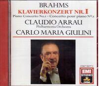Brahms : Concerto N.1 / Claudio Arrau, Carlo Maria Giulini - CD