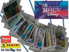 Panini DISNEY SHARE IN THE MAGIC Complete Full 84 Sticker Card Set * ARGOS Topps