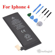 FULL CAPACITY REPLACEMENT BATTERY For APPLE Iphone 4 3.7V 1420mAh + TOOLS MN