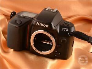 Nikon F-70 35mm Film Camera - 353