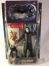 The Dark Knight JOKER Movie Master w/Crime Scene Evidence Batman Mattel NEW MOC