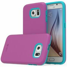 Hybrid Dual Layer TPU PC Shockproof Protective Case Cover For Samsung Galaxy S6