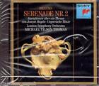 Brahms: Serenata No 2, Variazioni su Un Tema Di Haydn / Tilson Thomas - CD