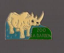 pin's zoo de la Barben (Bouches du Rhone - Rhinocéros)