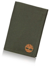 Timberland Men's Trifold Nylon Wallet With Velcro