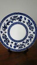 Antique c 1891 + Coalport Blue & White Plate - Belfort Decoration