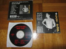 IGGY POP Live In The Cover 1993 JAPAN CD album