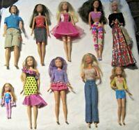 Barbie Doll Lot ~ Lot of 10 Dressed Barbie & Friends Dolls Lot (1)